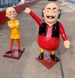Fiber Glass Cartoon Statues