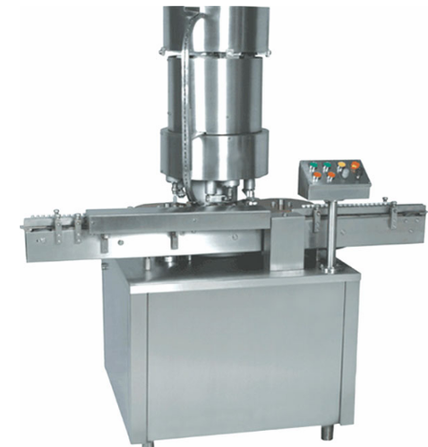 Silver Stainless Steel Cap Sealing Machine
