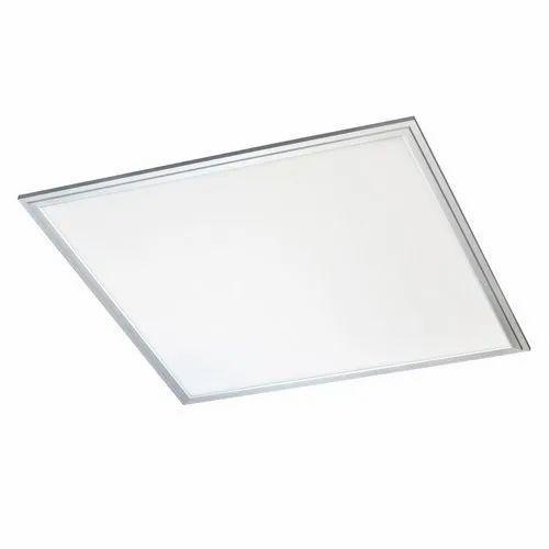 12 W Cool White 6X6 Inch 12W Flat LED Panel Light, Shape: Square