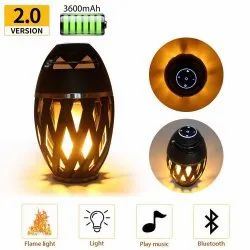 Cube Flame HD Atmosphere Torch Bluetooth 4.2 Portable Outdoor Speaker