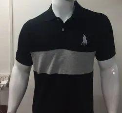 Mens Polo Cotton T Shirt