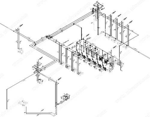 Ceramic Factory Design Services Electrical Bim Engineering Service
