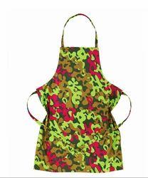 Multicolor Camouflage Apron