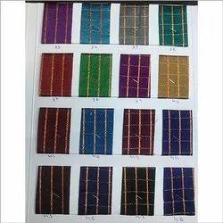 Checks Square Check Fabric, GSM: 100-150