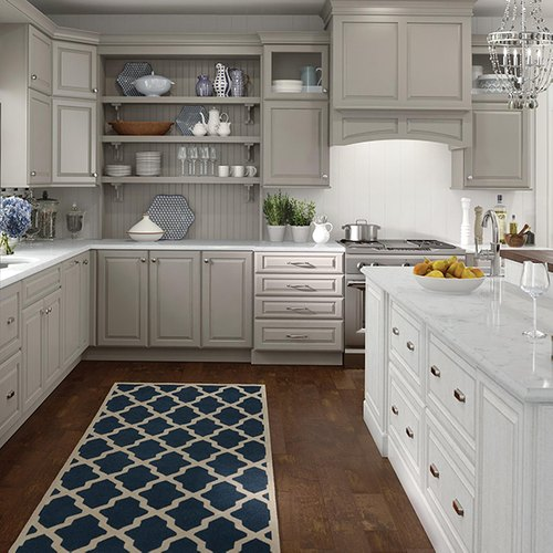 White Plywood Wooden Kitchen Cabinets 5 Star Interiors Id 21645803355