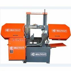 BDC-420 M Semi Automatic Double Column Band Saw Machine