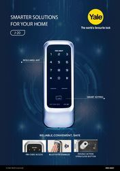 Yale Digital Door Lock Card Finger Pin Password By Assa Abloy