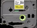 Brother TZe-631 Labelling Tape  Black on Yellow, 12mm wide