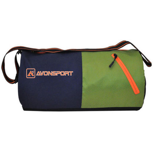 010d4e556f9d Printed Polyester Avon Sport New Design Round Sports Gym Bag
