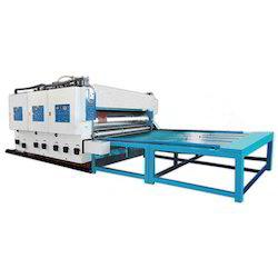 Corrugated Board Printer And Slotter Machine