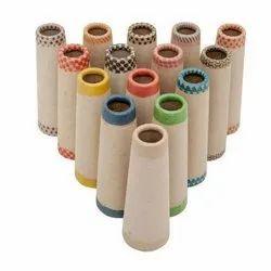 Colored Printed Paper Cones