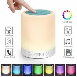 2.0 Touch Lamp Bluetooth Speaker, 3 W, Packaging Type: Box