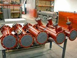 ABE Mild Steel LP Heater Heat Exchanger, For Industrial
