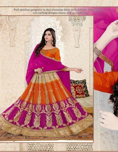 707d09547f940f Net Sanskar Style Desire Fancy Festival Wear Lehenga Choli, Rs 1495 ...