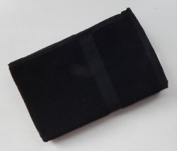 Cotton Black Terry Towel, For Saloon, Size: 30*60