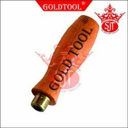 Gold Tool File Handle Wood Steel Die