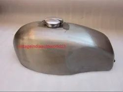 New Ducati 750 Gt Petrol Tank Raw Steel With Fuel Cap (Reproduction)