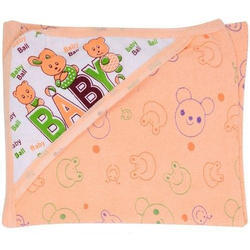 Cotton Printed Baby Soft Bath Towel