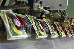 Hindi english text photo Magazine Printing, in india, Print Size: a4
