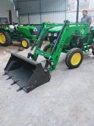 John Deere Tractor with Loader Attachment