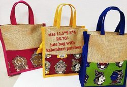 Jute With Kalamkari Bags