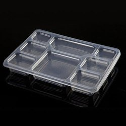 8 Compartment Disposable Food Tray