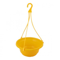 Yellow Hanging Planter