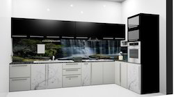 Double Colour Kitchen Cabinets
