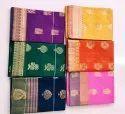 Kuppadam Fancy Silk Border Silk Cotton Saree