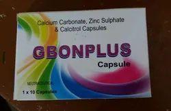 Calcium Carbonate Zinc Sulphate And Calcitrol Capsules