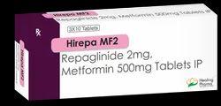 Hirepa MF 2 - Repaglinide 2mg   Metformin 500mg