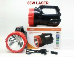 Plastic Livon Rechargeable LED Torch, Battery Type: Lead-Acid