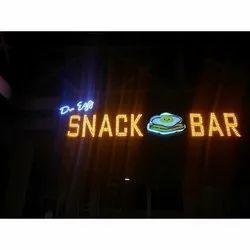 Open LED Acrylic Signage