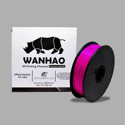 Wanhao Original Purple PLA 1.75mm 3D Printer Filament