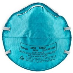 3M 1860 N95 Particulate Respirator  MASK