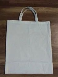 Polyster Fabric White Cloth Carry Bag for Grocery