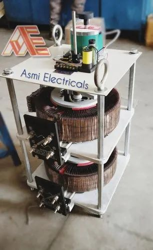 Two Phase Motorized Auto Variable Transformer
