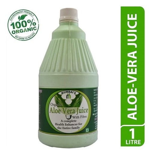 2 Year Organic Aloe Vera Juice 1 Lt, Packaging Size: 1000 ml