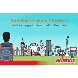 Abroad Study Documents Courier Service, Air and Water