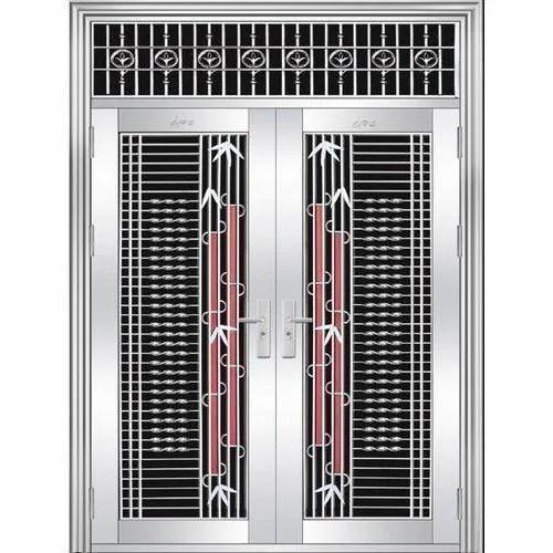 steel security door. Stainless Steel Security Door