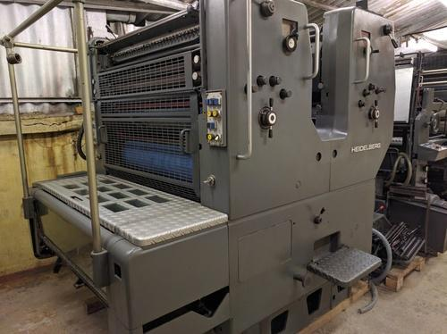 Manual Two Colors Heidelberg SORSZ 537  Offset Printing Machine