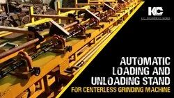 Automatic Loading And Unloading Stand For Centerless Grinding Machine