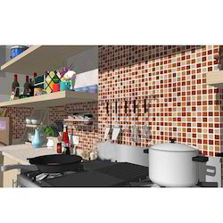 Crystal Kitchen Glass Mosaic Tiles