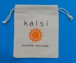 Kalsi Printed Cotton Pouch Bag