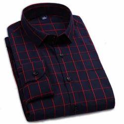 Siddhi's Checked Mens Fashion Shirt, Handwash