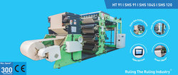 Line O Matic - Ruling/Flexo Printing Machine