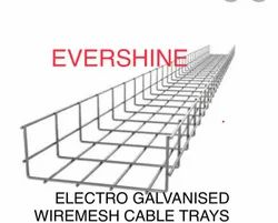 Wire Mesh Cable Tray (Electro Galvanized)