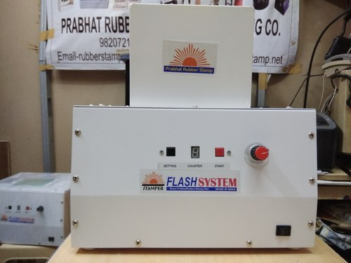 Automatic Squire Sun / Flash Stamp Making Machine -PRABHAT
