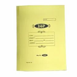 Cardboard DSP Business Clip File, Packaging Type: Packet