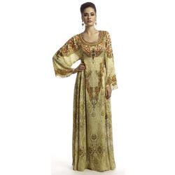 Ladies Georgette Printed Fancy Kaftan